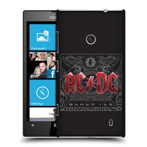 Plastové pouzdro na mobil Nokia Lumia 520 HEAD CASE AC/DC Black Ice