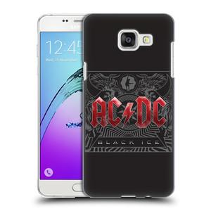 Plastové pouzdro na mobil Samsung Galaxy A5 (2016) HEAD CASE AC/DC Black Ice
