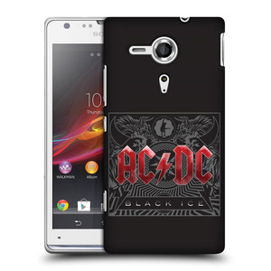 Plastové pouzdro na mobil Sony Xperia SP C5303 HEAD CASE AC/DC Black Ice