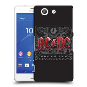 Plastové pouzdro na mobil Sony Xperia Z3 Compact D5803 HEAD CASE AC/DC Black Ice