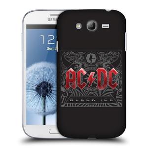 Plastové pouzdro na mobil Samsung Galaxy Grand Neo Plus HEAD CASE AC/DC Black Ice