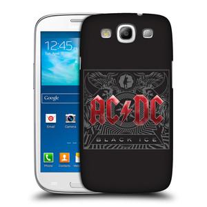 Plastové pouzdro na mobil Samsung Galaxy S III HEAD CASE AC/DC Black Ice