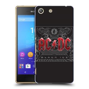 Plastové pouzdro na mobil Sony Xperia M5 HEAD CASE AC/DC Black Ice