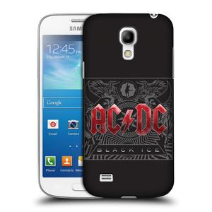 Plastové pouzdro na mobil Samsung Galaxy S4 Mini VE HEAD CASE AC/DC Black Ice