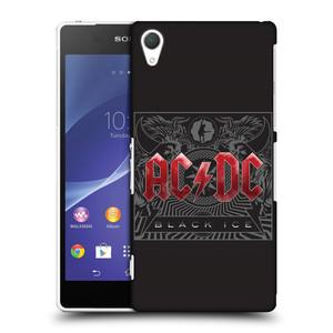 Plastové pouzdro na mobil Sony Xperia Z2 D6503 HEAD CASE AC/DC Black Ice