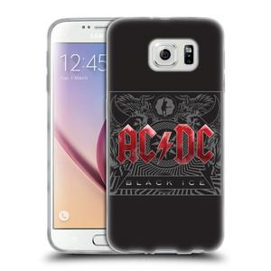 Silikonové pouzdro na mobil Samsung Galaxy S6 HEAD CASE AC/DC Black Ice