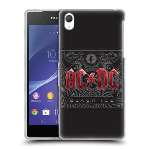 Silikonové pouzdro na mobil Sony Xperia Z2 D6503 HEAD CASE AC/DC Black Ice