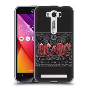 Silikonové pouzdro na mobil Asus ZenFone 2 Laser ZE500KL HEAD CASE AC/DC Black Ice