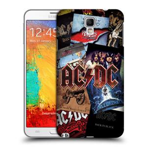 Plastové pouzdro na mobil Samsung Galaxy Note 3 Neo HEAD CASE AC/DC Koláž desek