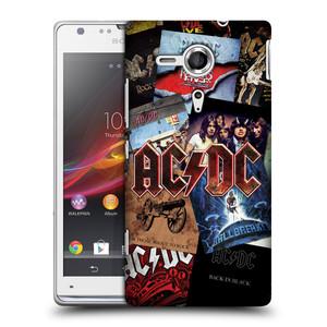 Plastové pouzdro na mobil Sony Xperia SP C5303 HEAD CASE AC/DC Koláž desek