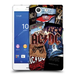Plastové pouzdro na mobil Sony Xperia Z3 Compact D5803 HEAD CASE AC/DC Koláž desek
