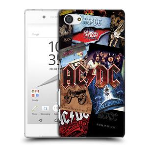 Plastové pouzdro na mobil Sony Xperia Z5 Compact HEAD CASE AC/DC Koláž desek