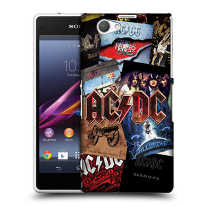 Plastové pouzdro na mobil Sony Xperia Z1 Compact D5503 HEAD CASE AC/DC Koláž desek