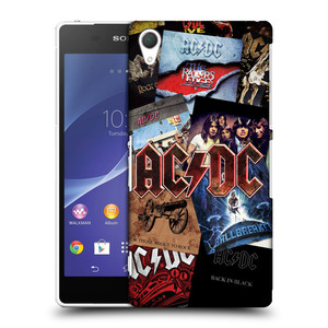 Plastové pouzdro na mobil Sony Xperia Z2 D6503 HEAD CASE AC/DC Koláž desek