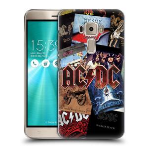 Plastové pouzdro na mobil Asus ZenFone 3 ZE520KL HEAD CASE AC/DC Koláž desek