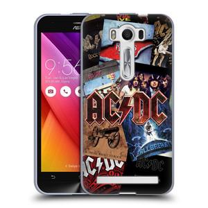 Silikonové pouzdro na mobil Asus ZenFone 2 Laser ZE500KL HEAD CASE AC/DC Koláž desek