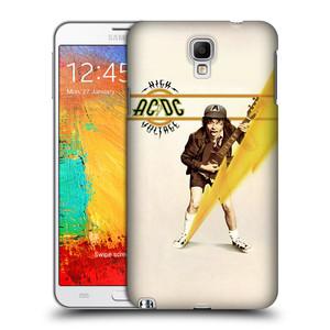 Plastové pouzdro na mobil Samsung Galaxy Note 3 Neo HEAD CASE AC/DC High Voltage