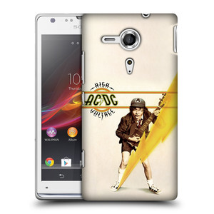 Plastové pouzdro na mobil Sony Xperia SP C5303 HEAD CASE AC/DC High Voltage