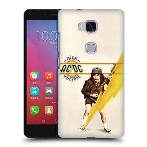Plastové pouzdro na mobil Honor 5X HEAD CASE AC/DC High Voltage