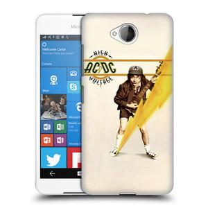 Plastové pouzdro na mobil Microsoft Lumia 650 HEAD CASE AC/DC High Voltage