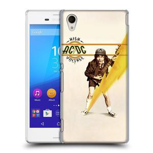 Plastové pouzdro na mobil Sony Xperia M4 Aqua E2303 HEAD CASE AC/DC High Voltage
