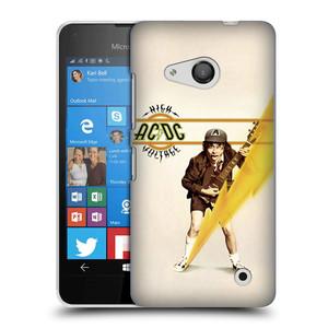 Plastové pouzdro na mobil Microsoft Lumia 550 HEAD CASE AC/DC High Voltage