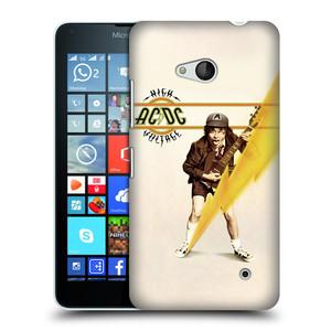 Plastové pouzdro na mobil Microsoft Lumia 640 HEAD CASE AC/DC High Voltage