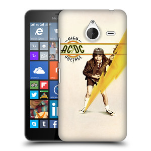 Plastové pouzdro na mobil Microsoft Lumia 640 XL HEAD CASE AC/DC High Voltage