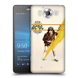 Plastové pouzdro na mobil Microsoft Lumia 950 HEAD CASE AC/DC High Voltage
