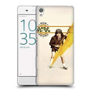 Plastové pouzdro na mobil Sony Xperia XA HEAD CASE AC/DC High Voltage