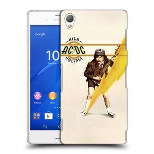 Plastové pouzdro na mobil Sony Xperia Z3 D6603 HEAD CASE AC/DC High Voltage