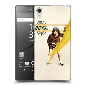 Plastové pouzdro na mobil Sony Xperia Z5 HEAD CASE AC/DC High Voltage