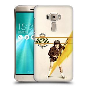 Plastové pouzdro na mobil Asus ZenFone 3 ZE520KL HEAD CASE AC/DC High Voltage