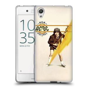 Silikonové pouzdro na mobil Sony Xperia X HEAD CASE AC/DC High Voltage