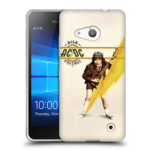 Silikonové pouzdro na mobil Microsoft Lumia 550 HEAD CASE AC/DC High Voltage