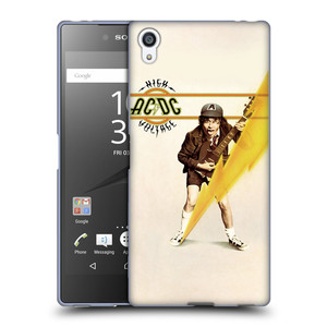 Silikonové pouzdro na mobil Sony Xperia Z5 Premium HEAD CASE AC/DC High Voltage