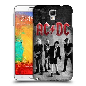 Plastové pouzdro na mobil Samsung Galaxy Note 3 Neo HEAD CASE AC/DC Skupina černobíle