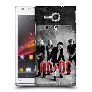Plastové pouzdro na mobil Sony Xperia SP C5303 HEAD CASE AC/DC Skupina černobíle