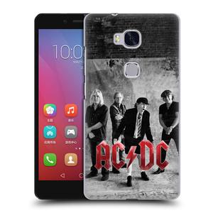 Plastové pouzdro na mobil Honor 5X HEAD CASE AC/DC Skupina černobíle