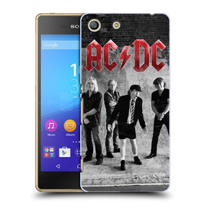 Plastové pouzdro na mobil Sony Xperia M5 HEAD CASE AC/DC Skupina černobíle