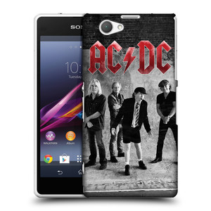 Plastové pouzdro na mobil Sony Xperia Z1 Compact D5503 HEAD CASE AC/DC Skupina černobíle