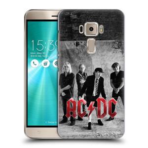 Plastové pouzdro na mobil Asus ZenFone 3 ZE520KL HEAD CASE AC/DC Skupina černobíle