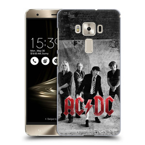 Plastové pouzdro na mobil Asus ZenFone 3 Deluxe ZS570KL HEAD CASE AC/DC Skupina černobíle