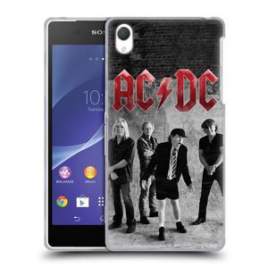 Silikonové pouzdro na mobil Sony Xperia Z2 D6503 HEAD CASE AC/DC Skupina černobíle