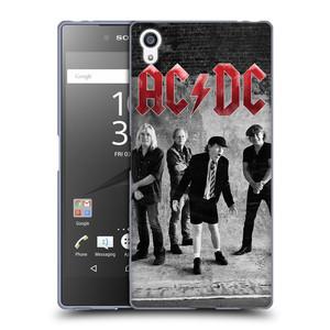 Silikonové pouzdro na mobil Sony Xperia Z5 Premium HEAD CASE AC/DC Skupina černobíle