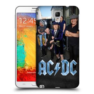 Plastové pouzdro na mobil Samsung Galaxy Note 3 Neo HEAD CASE AC/DC Skupina barevně