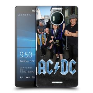 Plastové pouzdro na mobil Microsoft Lumia 950 XL HEAD CASE AC/DC Skupina barevně