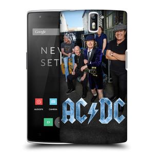Plastové pouzdro na mobil OnePlus One HEAD CASE AC/DC Skupina barevně