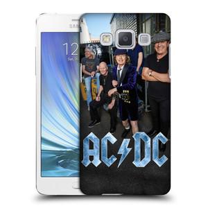 Plastové pouzdro na mobil Samsung Galaxy A5 HEAD CASE AC/DC Skupina barevně