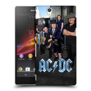 Plastové pouzdro na mobil Sony Xperia Z C6603 HEAD CASE AC/DC Skupina barevně